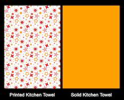Cotton Christmas Tea Towel