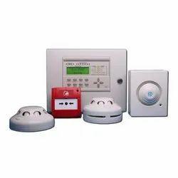 Navkar White Fire Alarm System, For Office