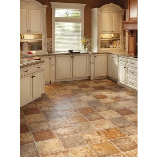 Brown Ceramic Kitchen Floor Tiles Thickness 8 10 Mm Rs 37 Square Feet Id 22178938855