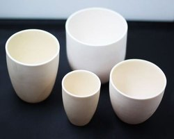 High Temp Alumina Crucible 15mL (1750 Degree Celsius)