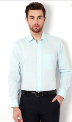 40.0 Blue Van Heusen Turquoise Shirt