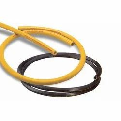 1-2 Mtrs 0.5 Inch PVC Rock Drill Hose Pipe, For Fire Fighting, 250 Psi