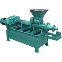 Semi-Automatic Charcoal Briquette Making Machine, Power Consumption: 55 kW