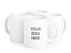 Mix Colour Personalized Mugs, for Office