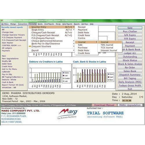 Marg ERP 9 Retail Billing Software - AR Compusoft, Greater