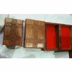 Brown Decorative Wooden Box