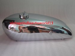 New Norton Model 18 Hand Gear Chrome Petrol Tank 1930''''s  With Cap