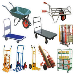 Mild Steel Industrial Trolley