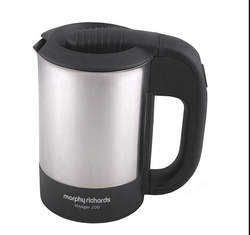 Stainless Steel 1090 Morphy Richards Travel Jug(PP) - Voyager 200 590001, Capacity: 0.5L
