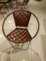Standard Leather Cafe Chair