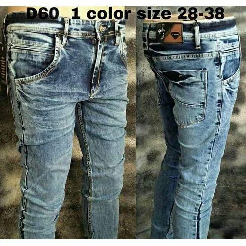 66255a13a668ac Mens Designer Slim Fit Jeans at Rs 750 /piece | Gents Jeans - Devik ...