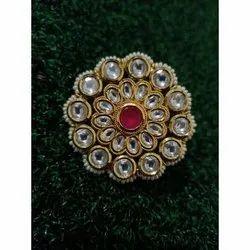 Artificial Brass Earrings Top