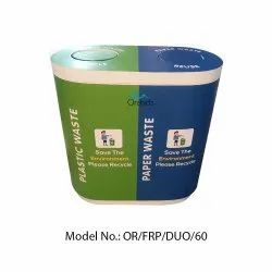 Orchids FRP Duo Dustbin