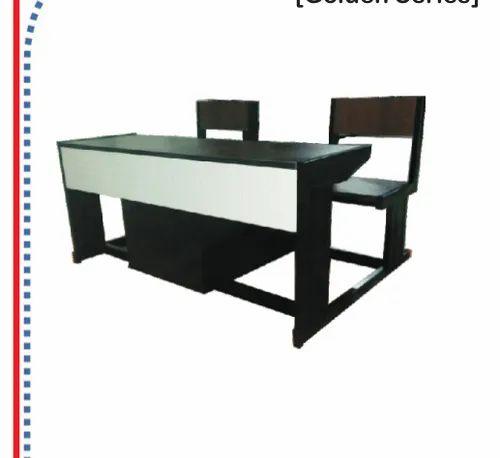 Groovy 2 Seater Plywood Dual Desk Bench Creativecarmelina Interior Chair Design Creativecarmelinacom