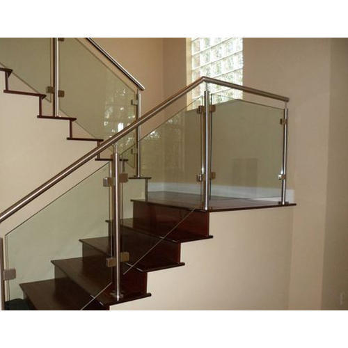 Stair Glass Handrail