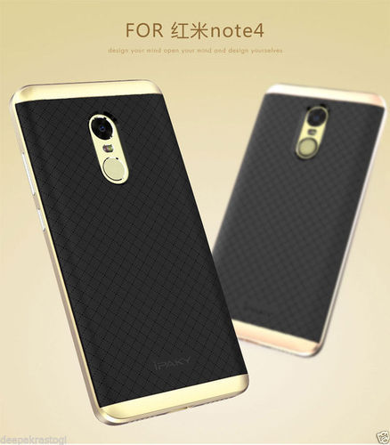 finest selection 3dc12 c1353 Original Ipaky Pc Tpu Dual Hybrid For Xiaomi Redmi Note 4
