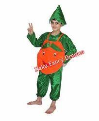 Kids Smiley Orange Costume