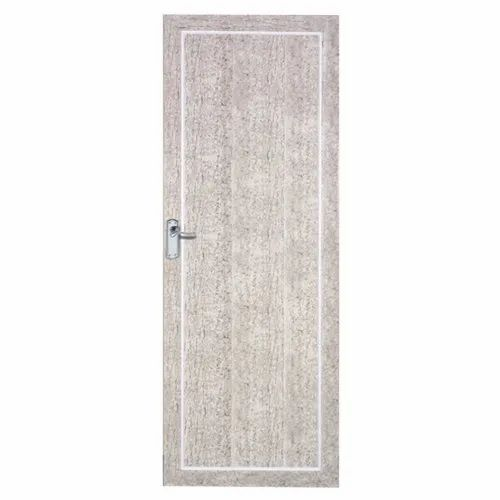 Polished Hinged Multi Panel PVC Laminated Door