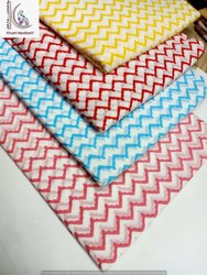 Zig Zag Hand Block Print Fabric
