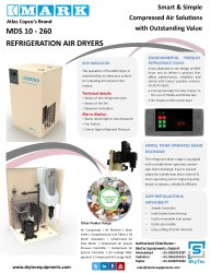 Refrigeration Air Dryer