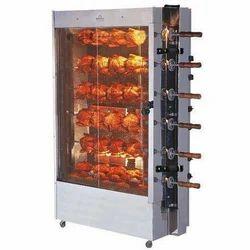 Electric Chicken Grill Machine