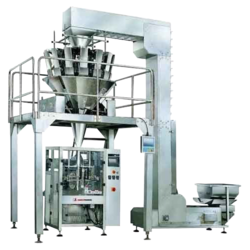 Cup Filler & Auger Filler Snacks Kurkure Corn Puff Pouch Packing Machine, Capacity: 40-45 Pouches Per Min