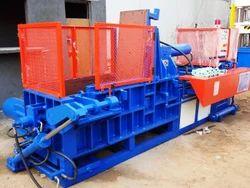 Semi-Automatic Cast Iron Double Compression Scrap Balers