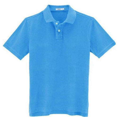 1250fccb833 Sky Blue Collar T Shirts at Rs 175  piece