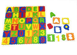 Cutez Alpha Numeric Puzzle Set
