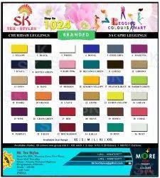 Plain and Printed More than 30 colors Ladies Lycra Legging