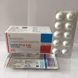 Montelukast Sodium Levocetirizine Dihydrochloride Dispersible Tablet