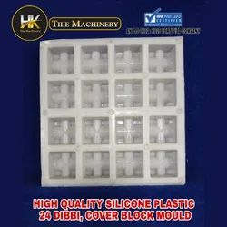 High Quality Silicone Plastic 24 Dibbi Cover Block Mould
