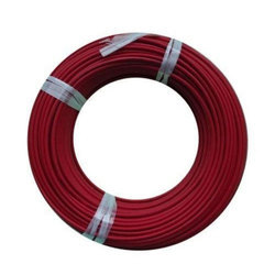 red pvc electrical wires
