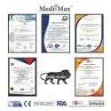 Medi-Max N95 DRDO Certified Face Mask Pro With Head Band Strap l Sterile Eol