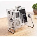 6-Slot Clear Acrylic Home Desk TV Air-Conditioner Remote Control Storage Holder Organizer Stand