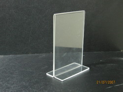 Acrylic Brochure Menu Holder