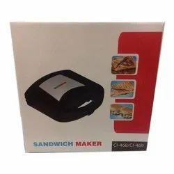 Utility CI-468/469 Sandwich Maker, Voltage: 220 V