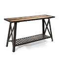 Grill Base Industrial Dining Table