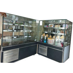Flat Glass Display Counter