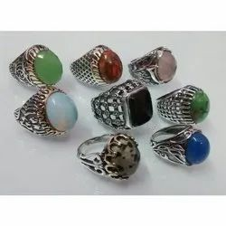 Silver Rings Two Tone Casting Rings