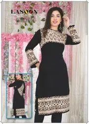 5037 Stylish Designer Woolen Kurtis