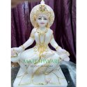 Marble Saraswati Murti