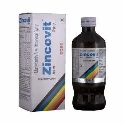 Zincovit Multimineral & Multivitamin Syrup, 200 ml/bottle
