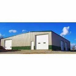 Mild Steel Prefab Prefabricated Warehouse
