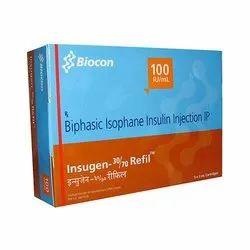 Insugen 30/70 Injection 100IU/ml