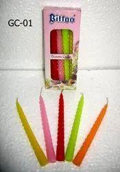 GC-01 Bittoo Candle 10 Pcs / Pkt