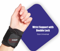Wrist Support With Double Lock