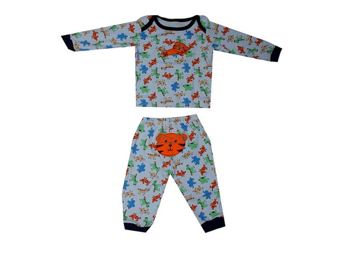 ca97671f6a49 Pikaboo Baby Night Suit for Boys and Girls (6-18 Months)