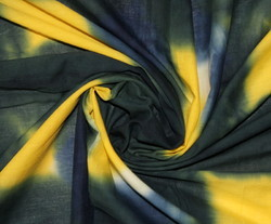 Hand Dyed Cotton Fabric