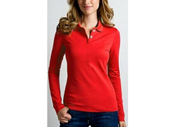 women's long sleeve cotton polo shirts > Up to 74% OFF > Free shipping